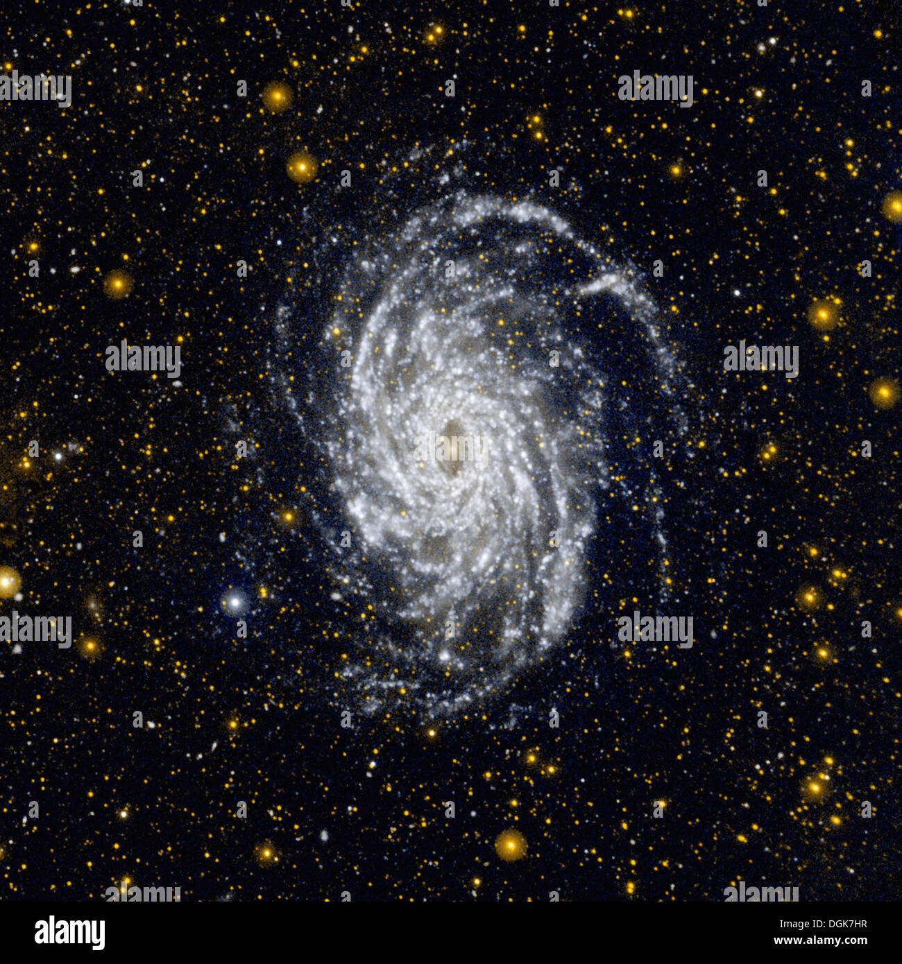 NGC 6744, a galaxy similar to our Milky Way - Stock Image