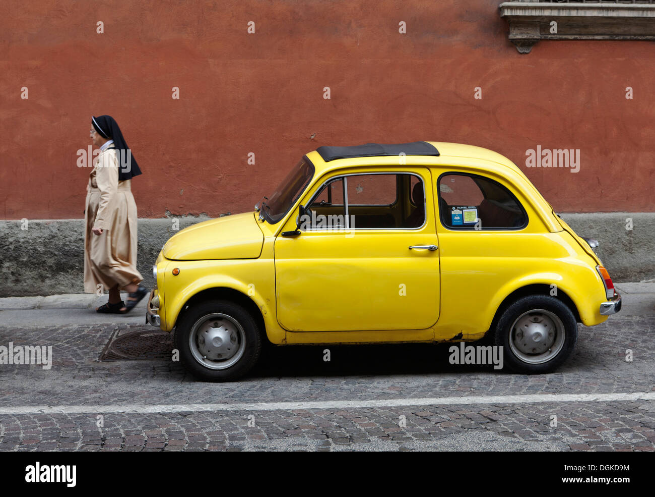 fiat 500 cars vintage cars stock photos fiat 500 cars. Black Bedroom Furniture Sets. Home Design Ideas