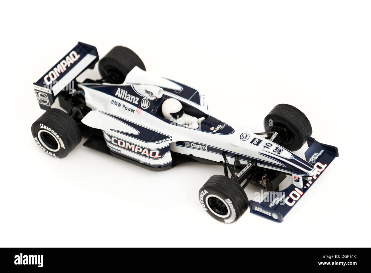 Scalextric Formula One racing car - Stock Image