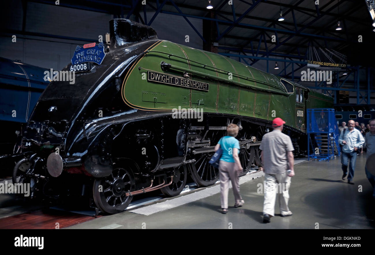 a4 pacific class steam locomotive dwight d eisenhower at the great gathering national railway museum