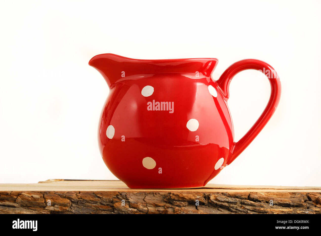 Rustic pitcher - Stock Image