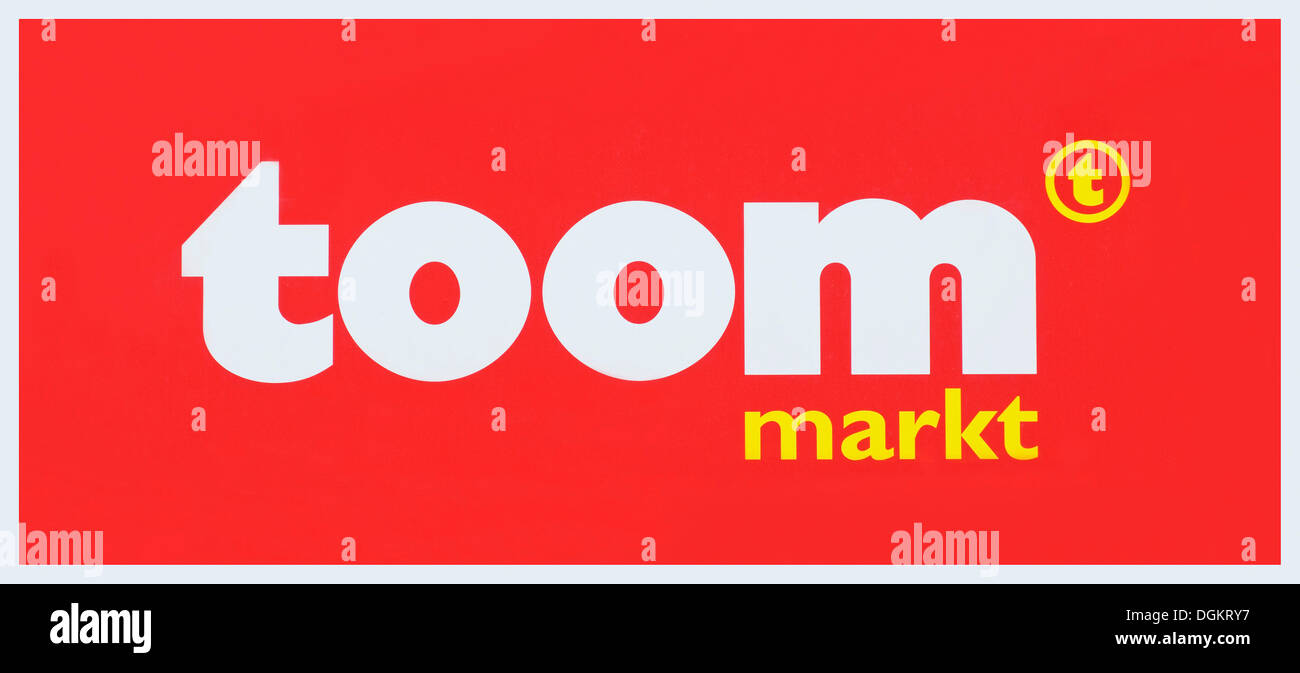 Logo, Toom Markt, convenience store - Stock Image