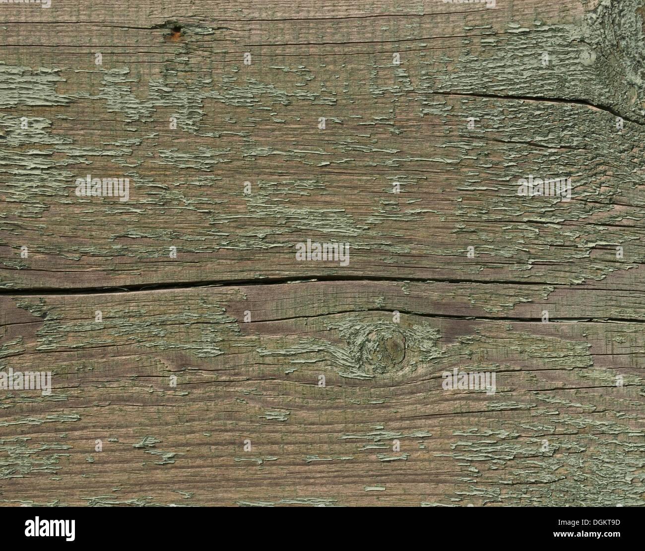 Weathered board, background - Stock Image