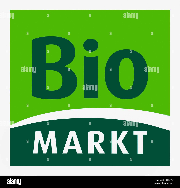 Logo of Bio Markt, Biomarkt, Dennree GmbH - Stock Image