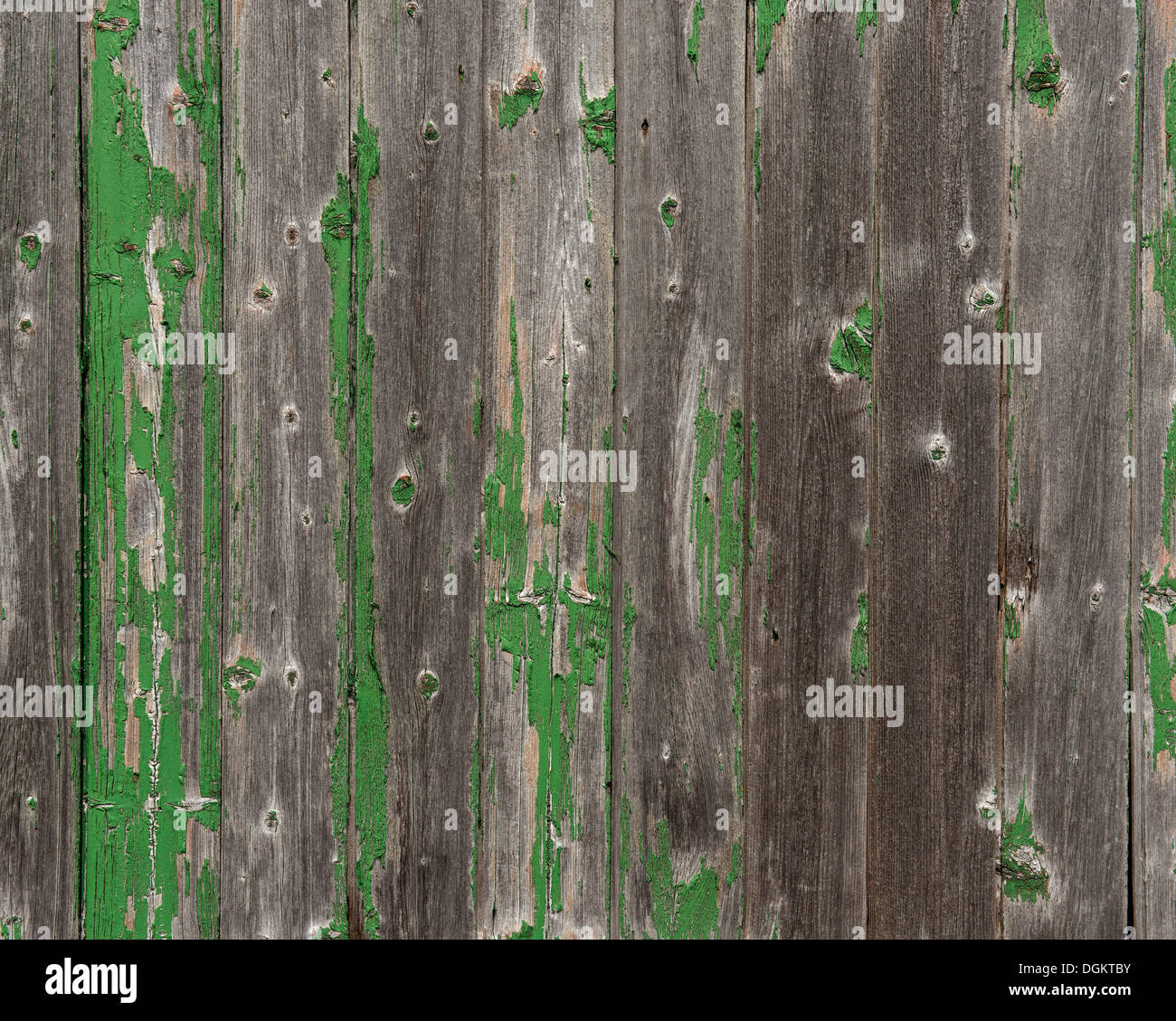 Weathered wooden wall, PublicGround - Stock Image