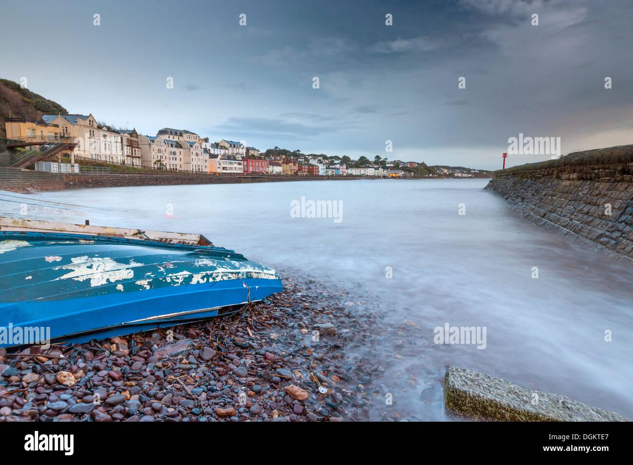 Dawlish seafront. Stock Photo