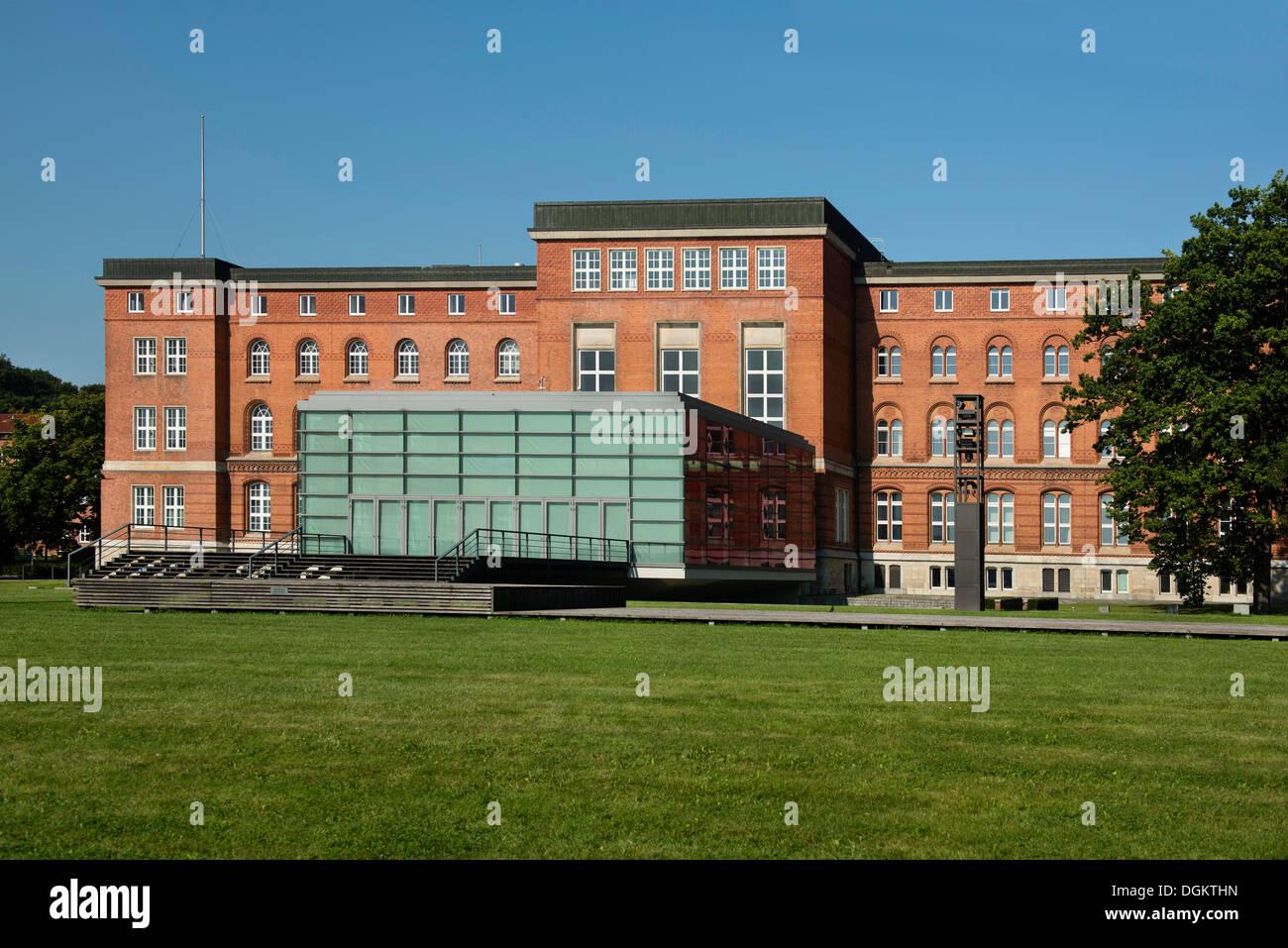 Landeshaus Kiel, Schleswig-Holstein state parliament building, Kiel, Schleswig-Holstein, PublicGround - Stock Image