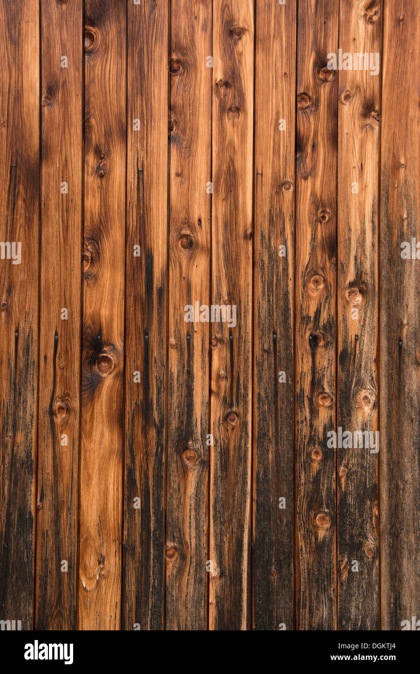 Wooden wall, background - Stock Image