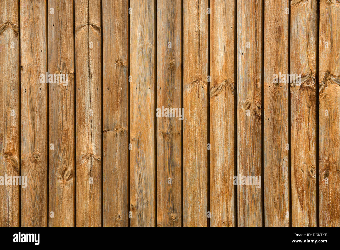 Wooden wall, PublicGround - Stock Image