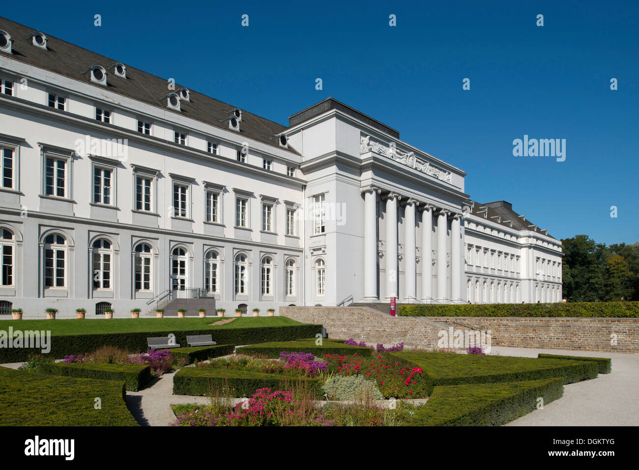 Electoral Palace, French early classicism, UNESCO World Heritage Site, protected cultural property, Koblenz - Stock Image
