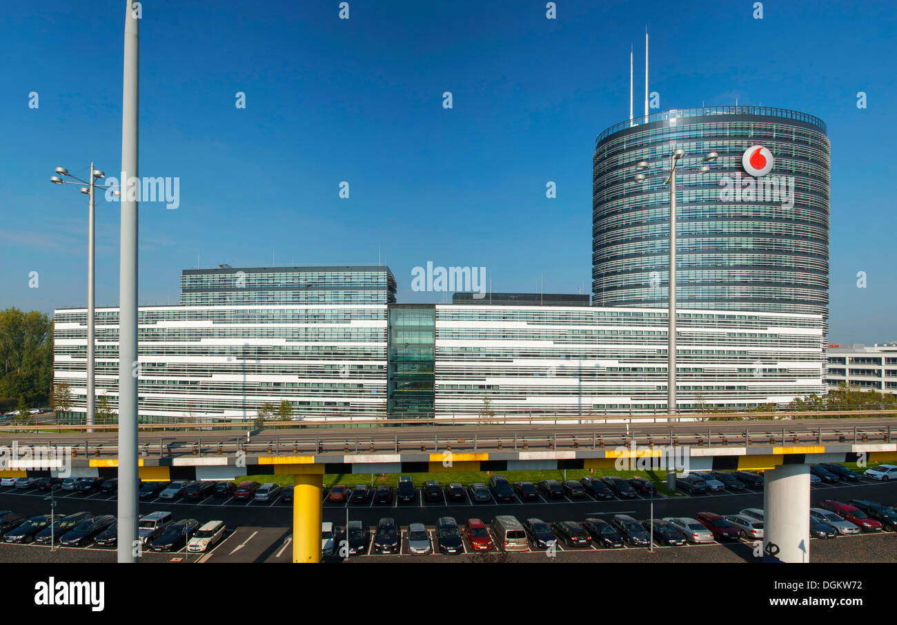Vodafone corporate headquarters and Campus, Düsseldorf, Germany, Europe - Stock Image