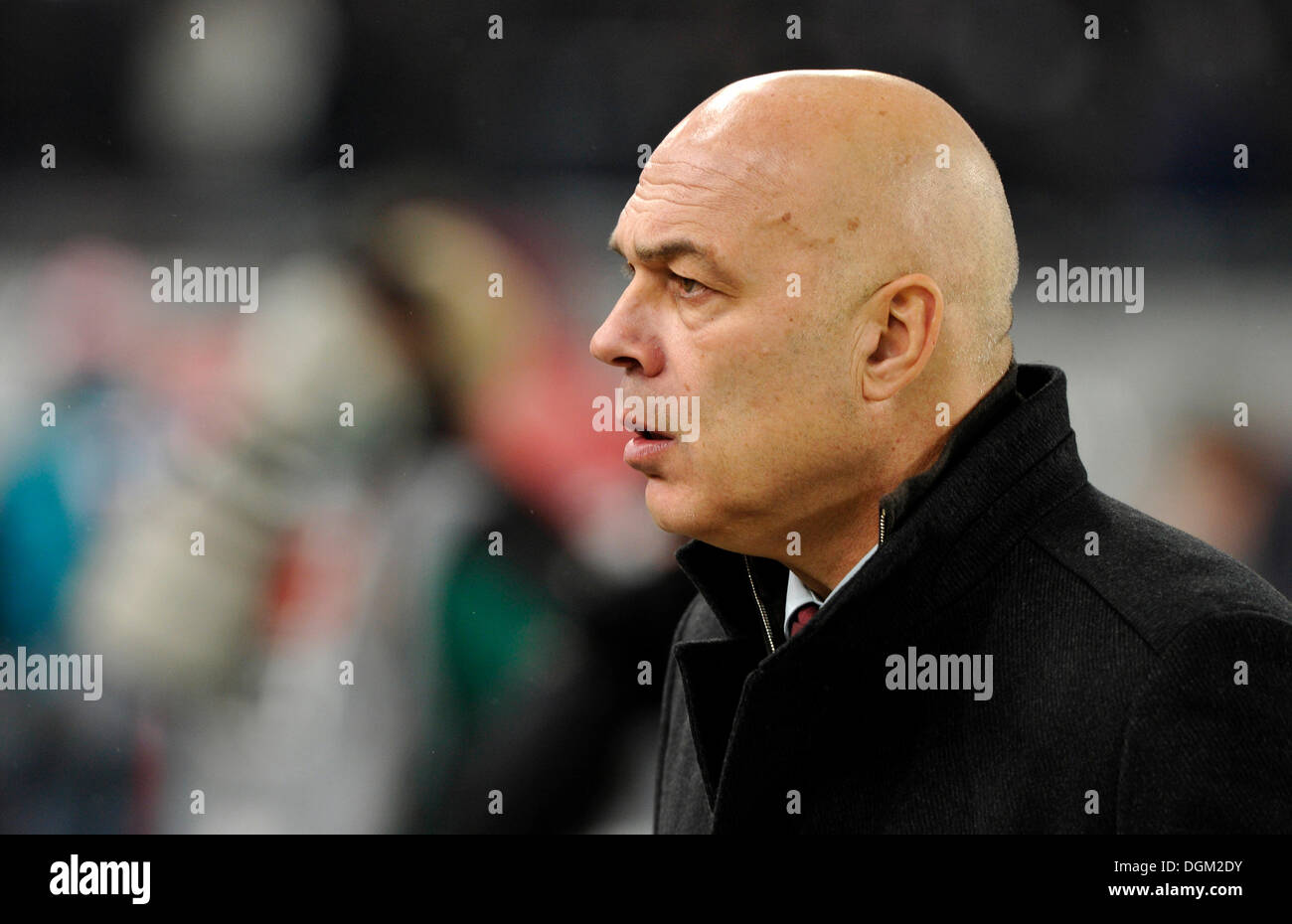 Coach Christian Gross, VfB Stuttgart - Stock Image