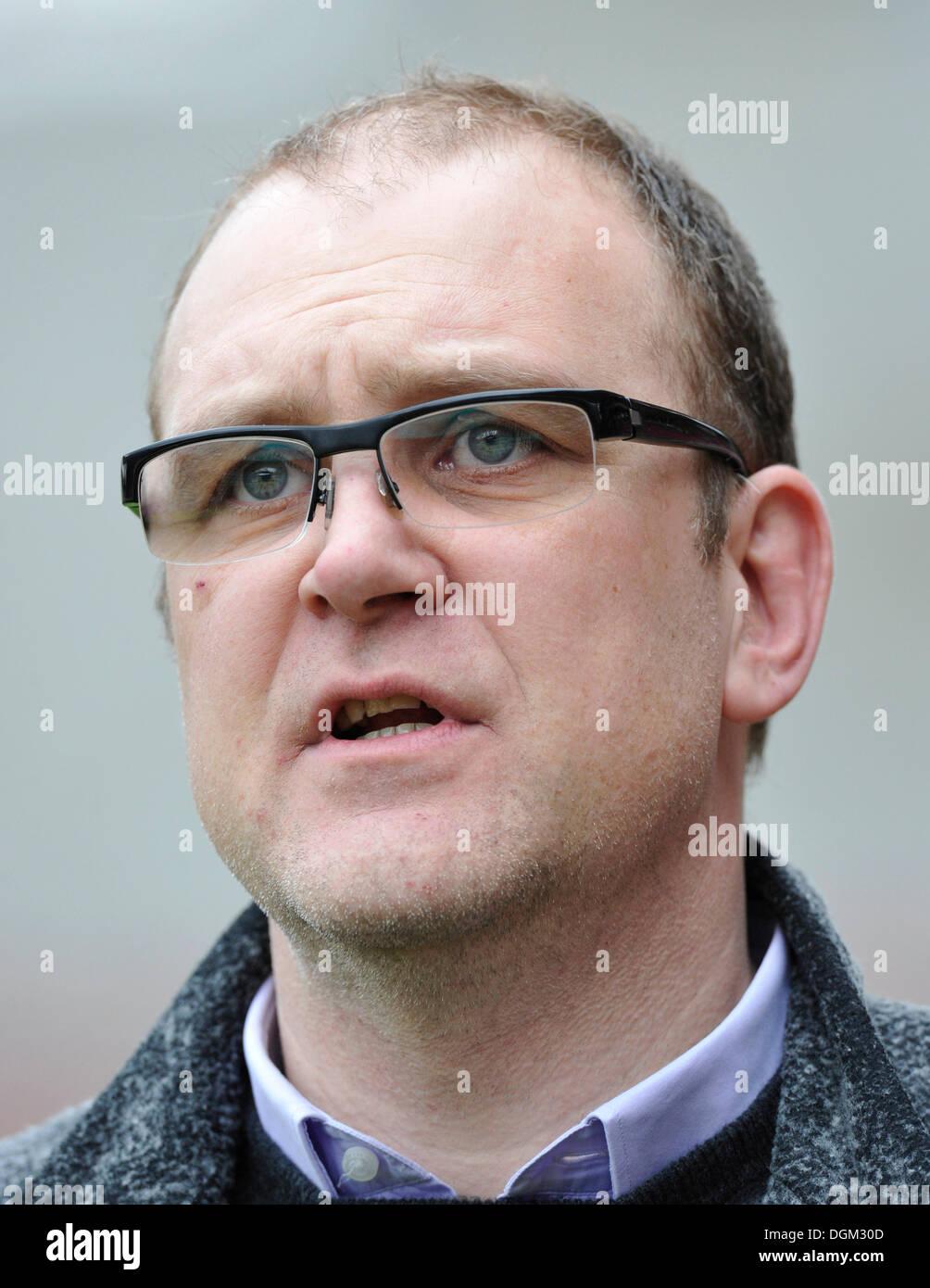 Sports director Jorg Schmadtke, Hannover 96 football club - Stock Image