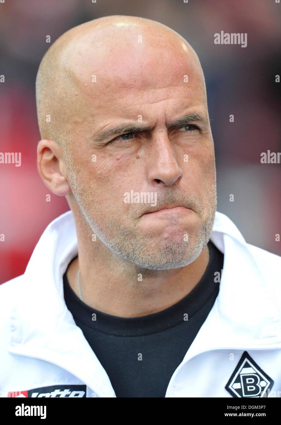 Michael Frontzek, coach of Borussia Moenchengladbach - Stock Image