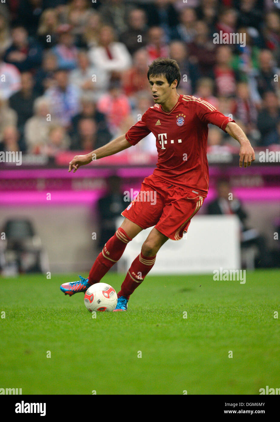 Javi Javier Martinez, 40 million Euro acquisition, FC Bayern Munich, Allianz Arena, Munich, Bavaria - Stock Image