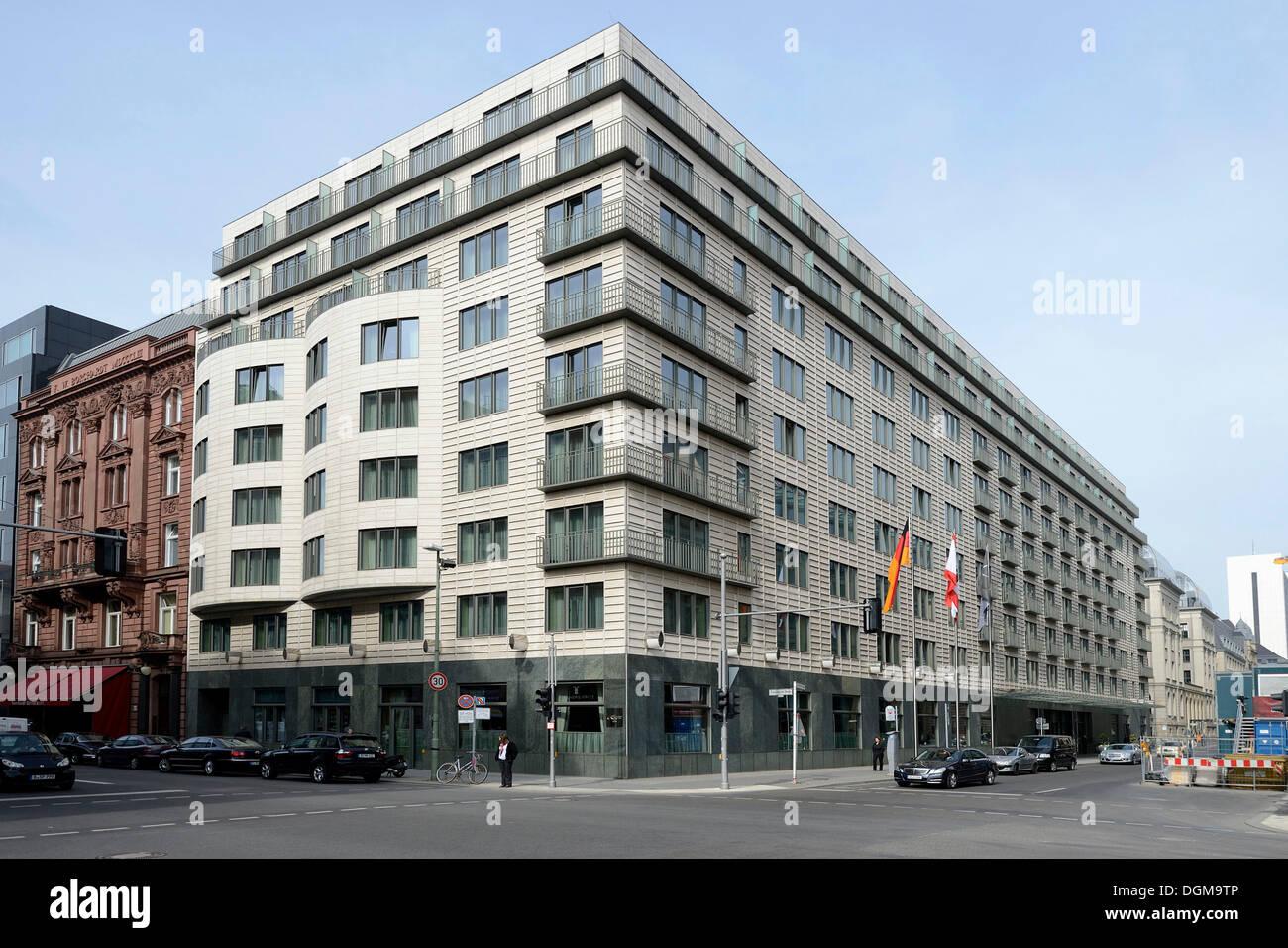 The Regent, a 5-star hotel, Berlin, Gendarmenmarkt square - Stock Image