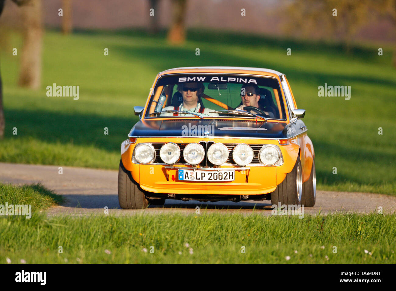 Bmw 2002ti Alpina Built In 1970 Langenburg Historic 2010 Stock Photo Alamy