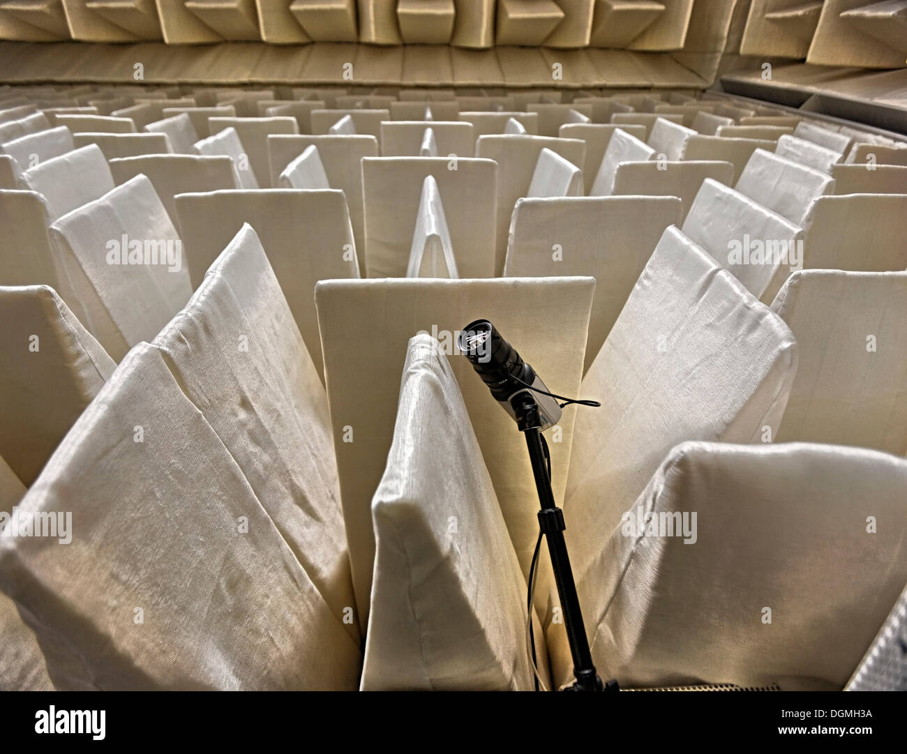 Acoustic hall of the KIT or Karlsruhe Institute of Technology, Karlsruhe, Baden-Wuerttemberg - Stock Image