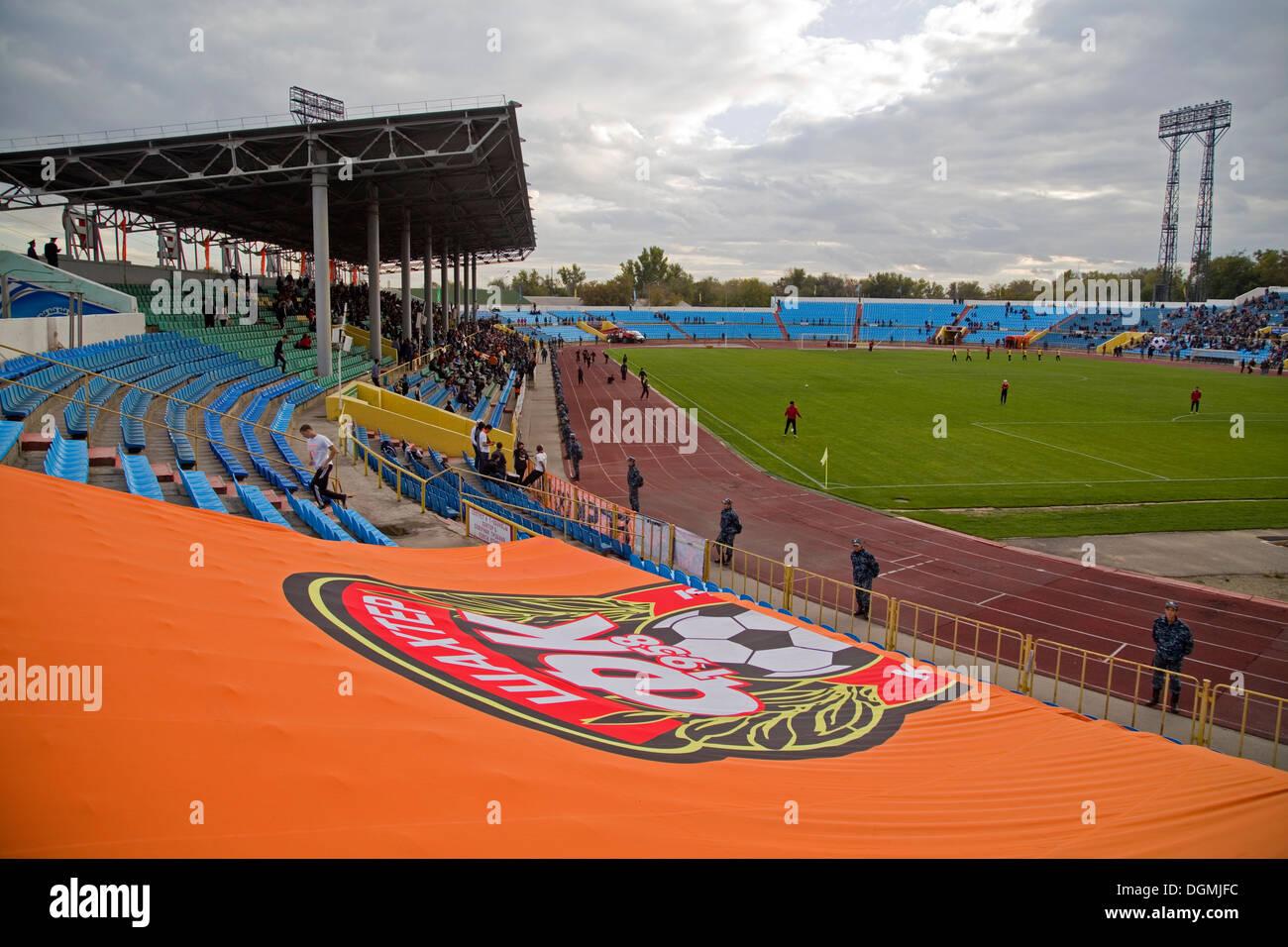 Stadium of Shakier, Karaganda, Kazakhstan - Stock Image