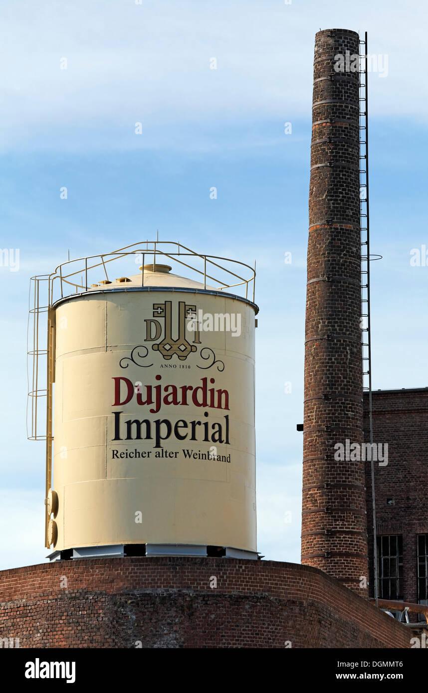 Former Dujardin distillery, Uerdingen district, Krefeld, North Rhine-Westphalia - Stock Image