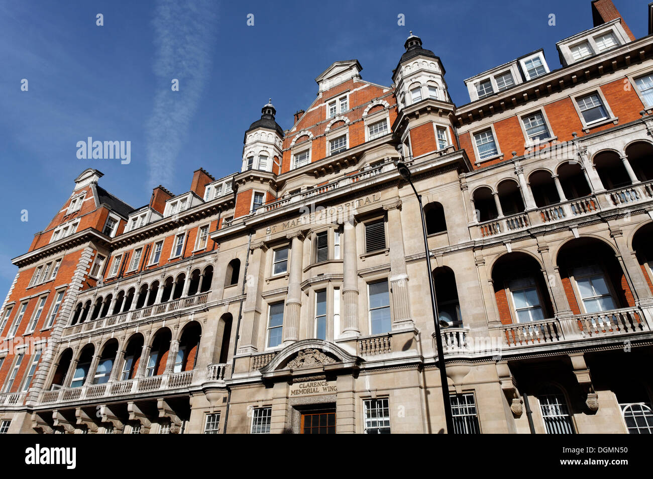 St. Mary's Hospital, Alexander Fleming Museum, Paddington, London, England, United Kingdom, Europe - Stock Image