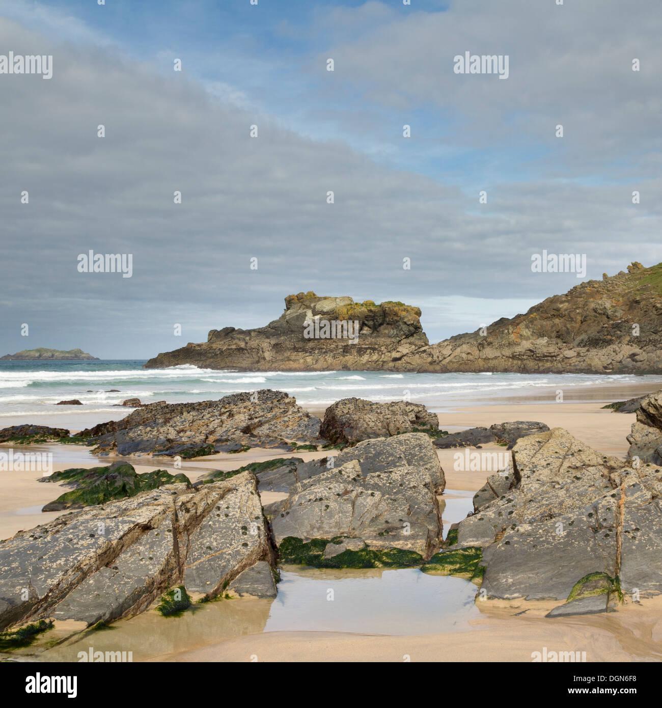 Cornwall England UK on a beautiful day Stock Photo