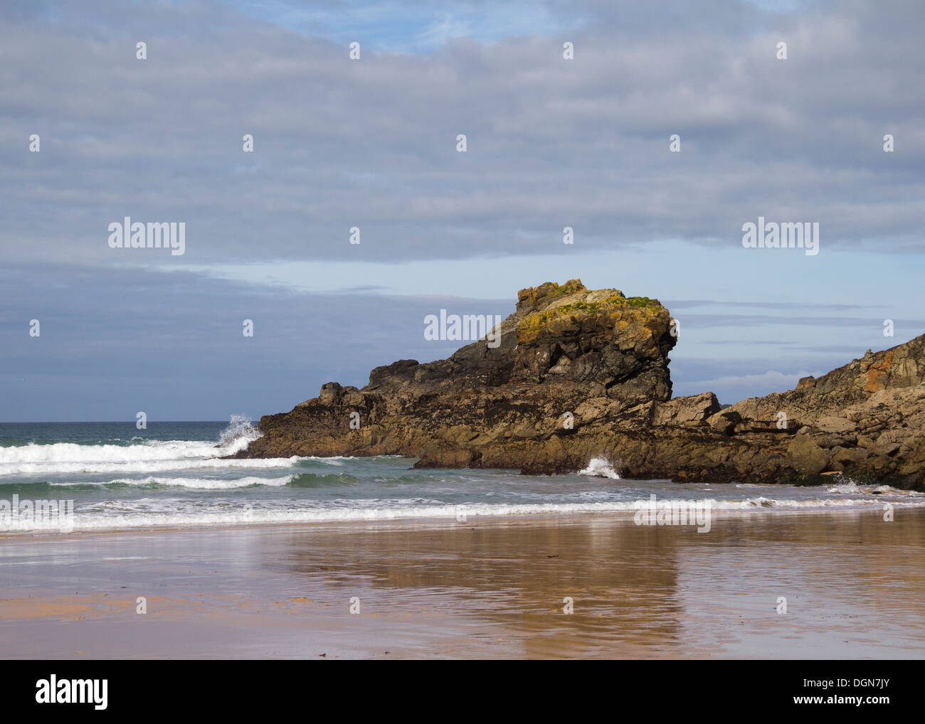 Cornwall England UK on a beautiful day Stock Photo