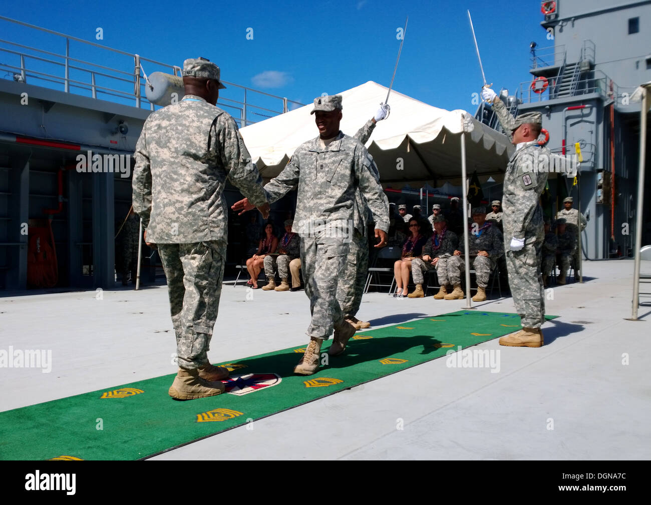 SAMC 8th Theater Sustainment Command Sgt. Audie Murphy Club - Stock Image