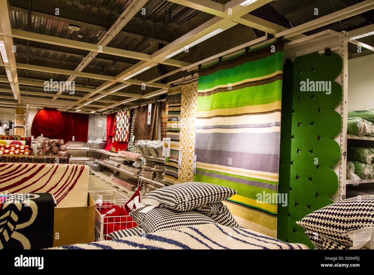 Inside The Ikea Store In Burbank Califorinia   Stock Image