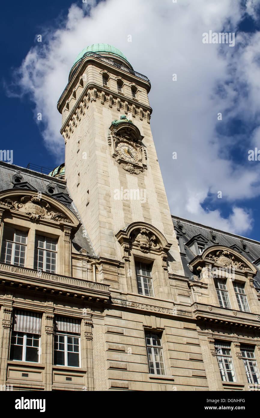 Sorbonne, Paris - Stock Image