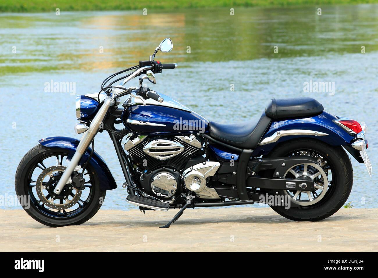 Yamaha XVS 950 A Stock Photo