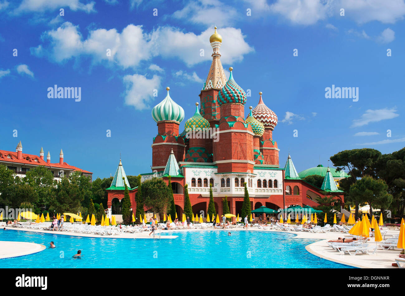 hotel wow kremlin palace in antalya  turkish riviera  turkey  western stock photo  61943611