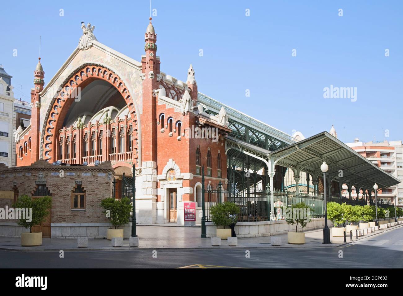 Mercado de Colon, Valencia, Comunidad Valenciana, Spain, Europe - Stock Image