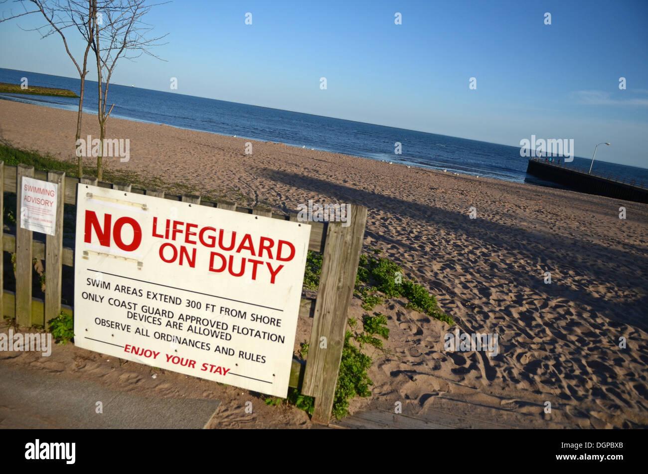 01d82b5e3e1 No Lifeguard On Duty Stock Photos   No Lifeguard On Duty Stock ...