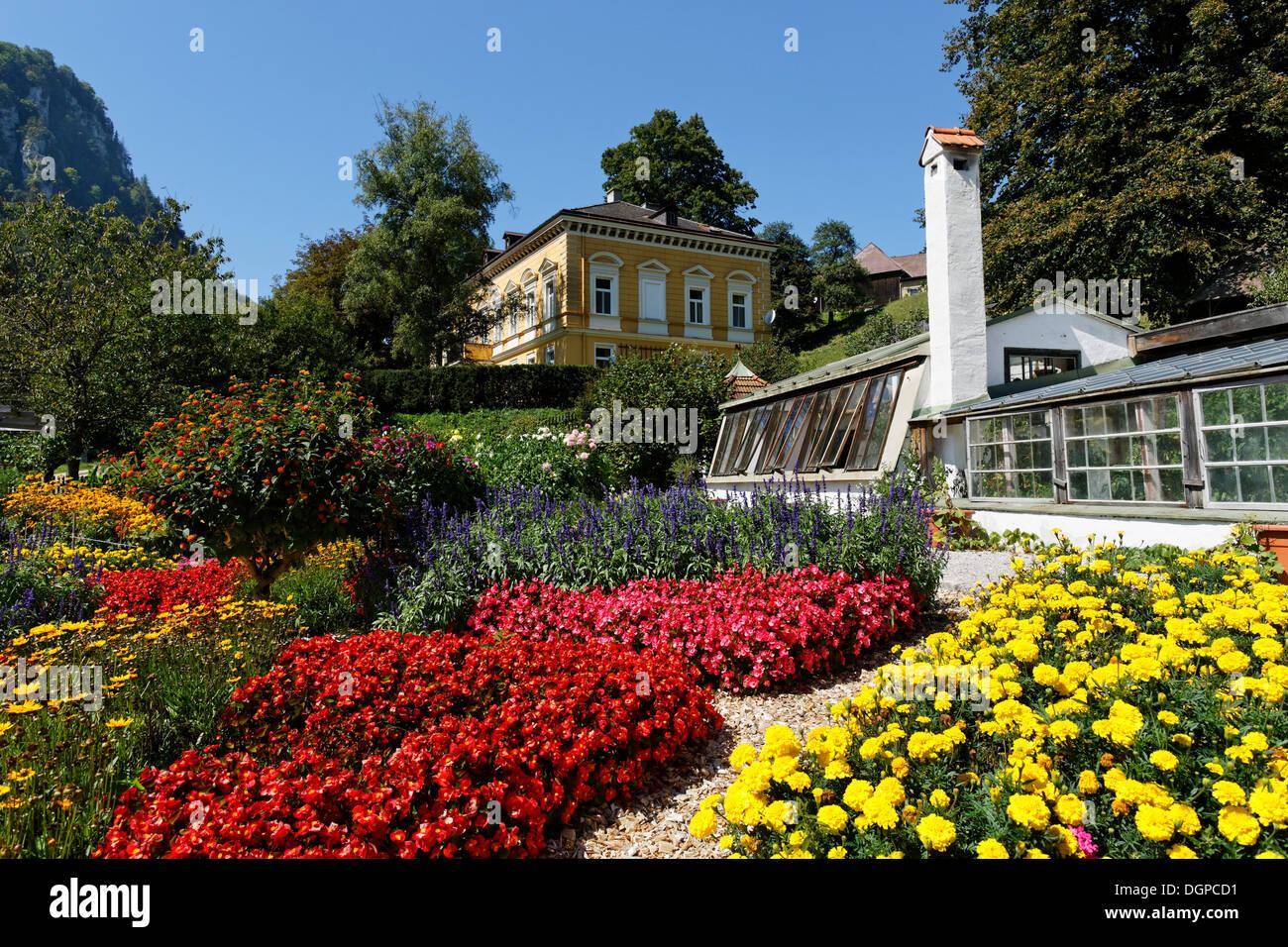 Ruler's Garden, open-air museum of Schmiedleithen, Gruenberg, Pyhrn-Eisenwurzen region, Traunviertel district, Upper Austria - Stock Image