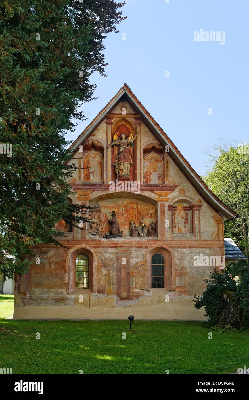 Seelenkapelle, Soul Chapel, Oberstdorf Oberallgaeu, Allgaeu, Swabia, Bavaria, PublicGround - Stock Image