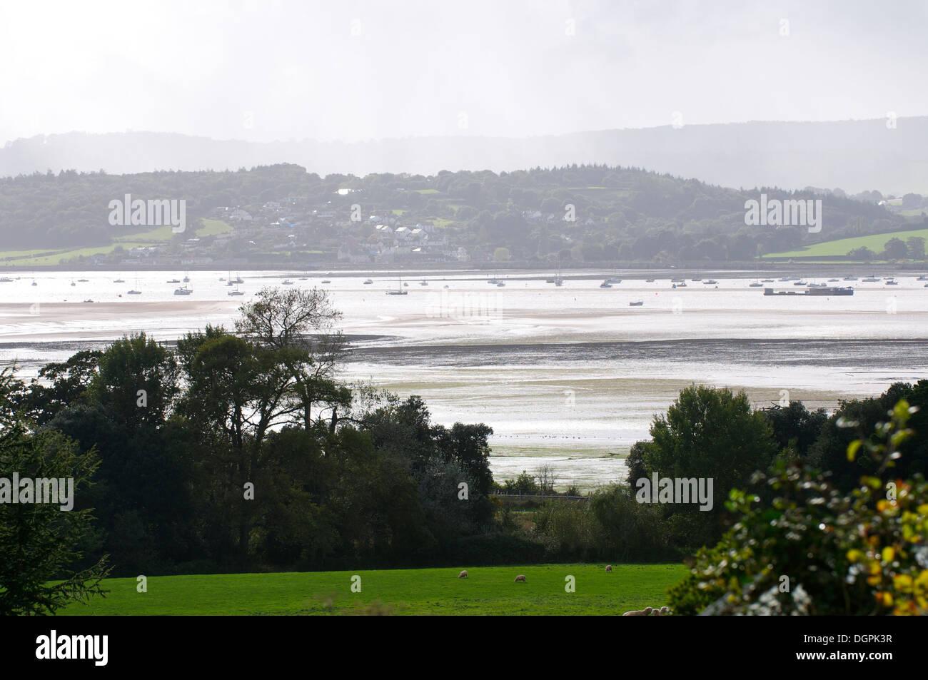 Exe Estuary, Devon UK - Stock Image