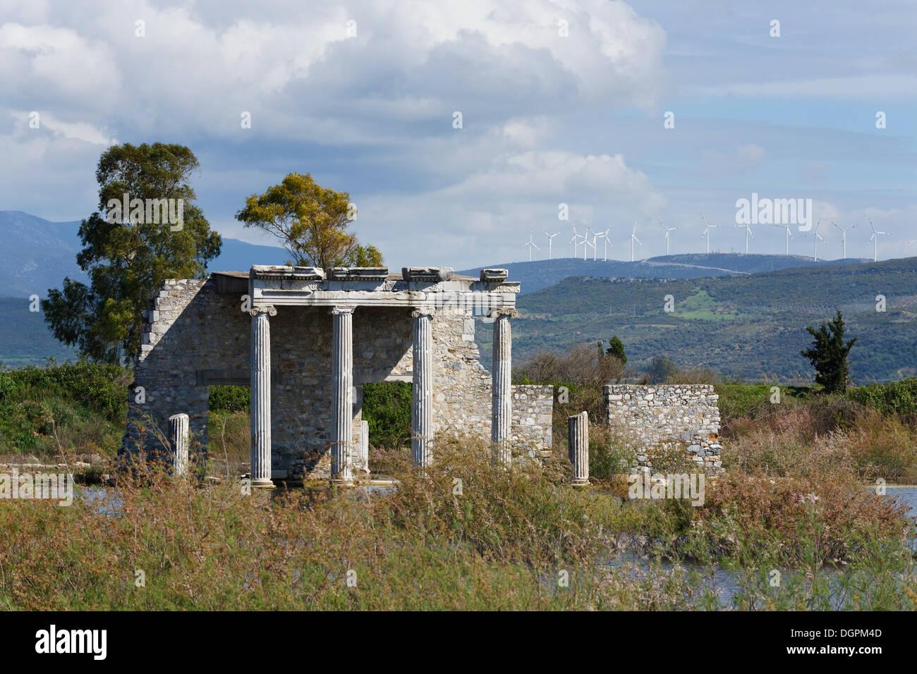 Hellenistic Gymnasium, ancient city of Miletus, Miletus, Aydin province, Aegean region, Turkey Stock Photo