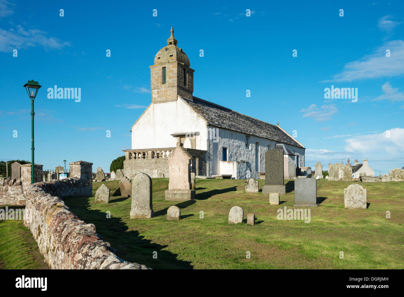 The Tarbat visitor center with museum about the Picts at Portmahomack, Scotland, UK, Europe, PublicGround - Stock Image