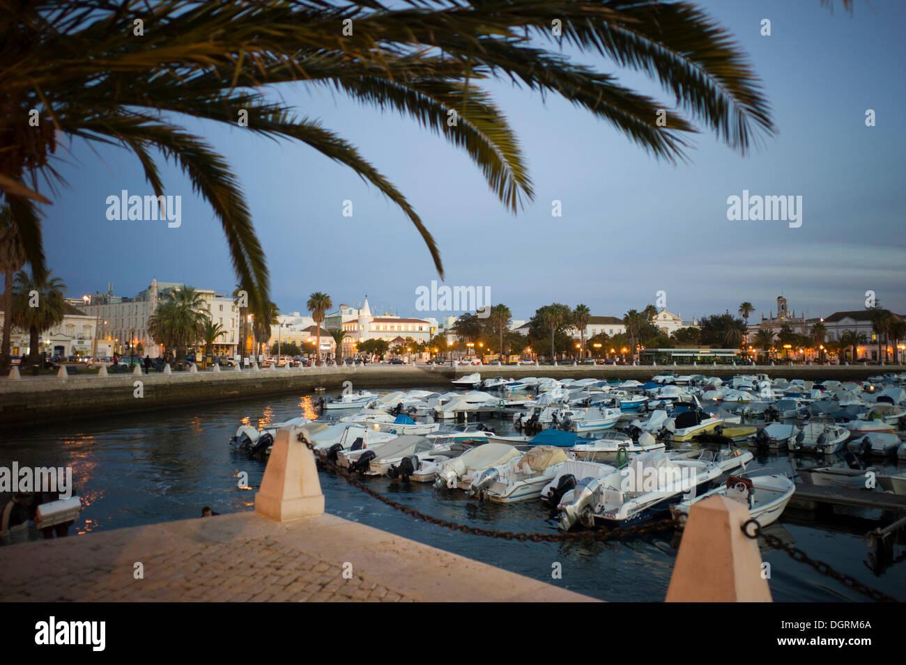 Marina, Faro, Algarve, Portugal, Europe - Stock Image