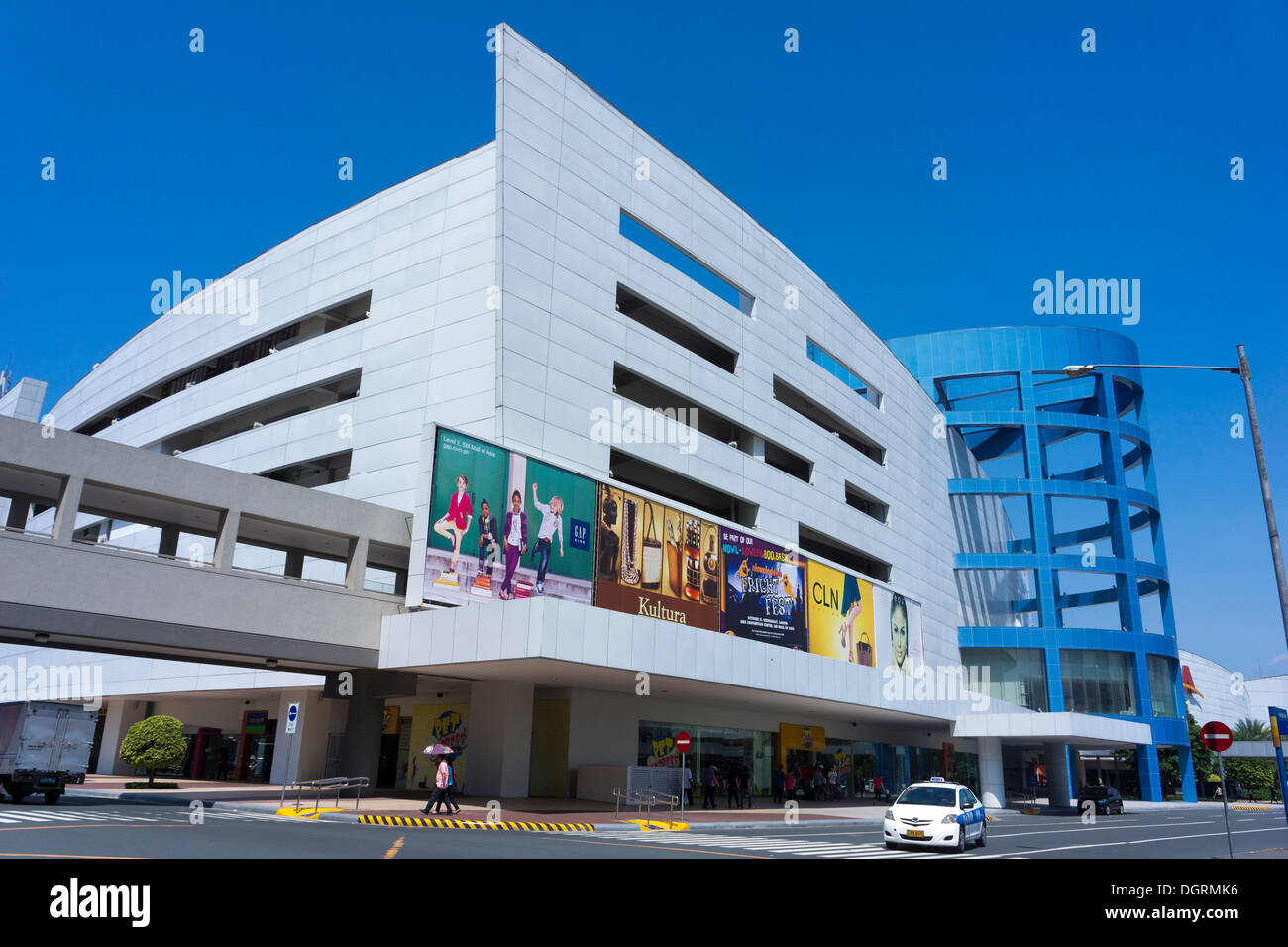 SM Mall of Asia, one of the biggest shopping centers in Asia, Pasay City, Manila, Philippines, Asia, PublicGround - Stock Image