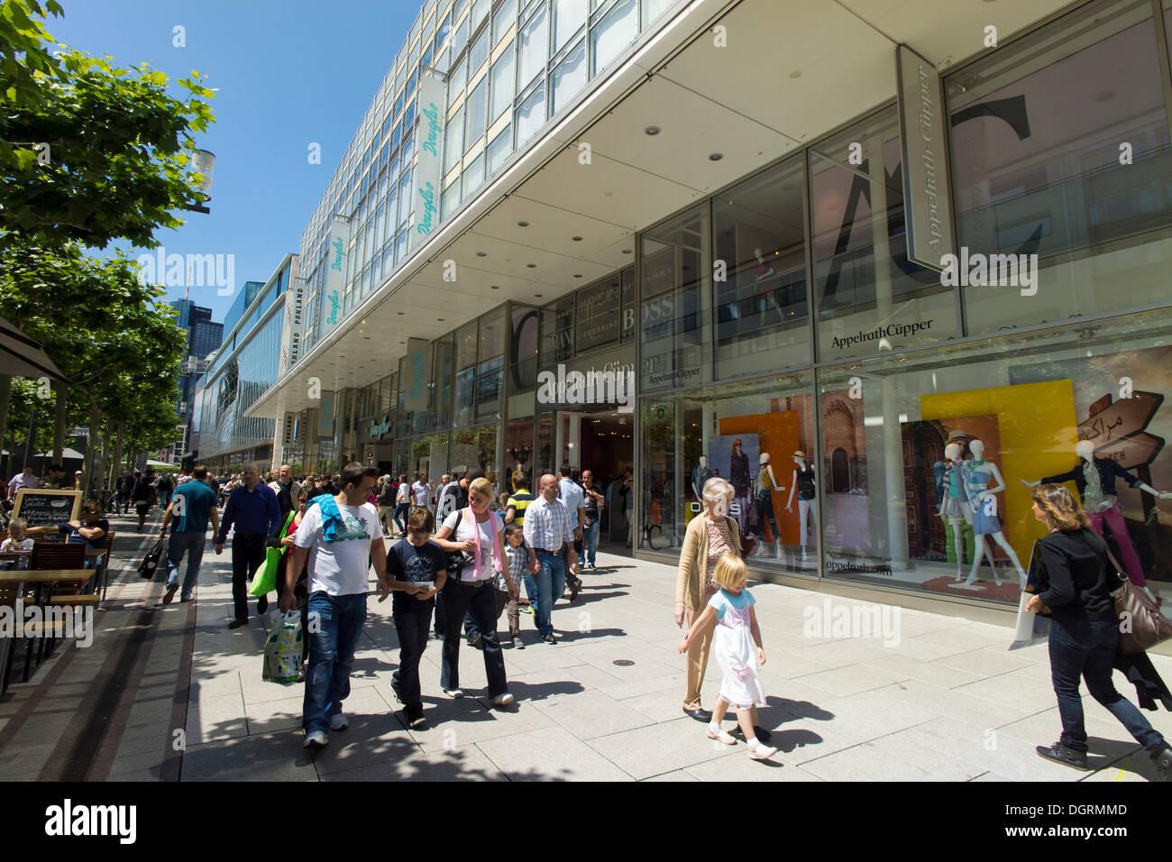 Zeil Frankfurt Shops