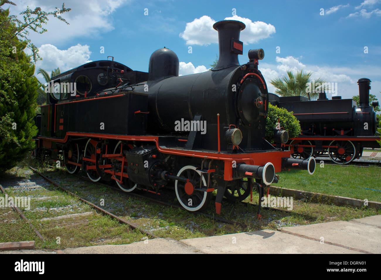 3405 locomotive, by Borsig, built between 1905 and 1909, Çamlik Railway Museum, Çamlik, Turkey, Asia - Stock Image