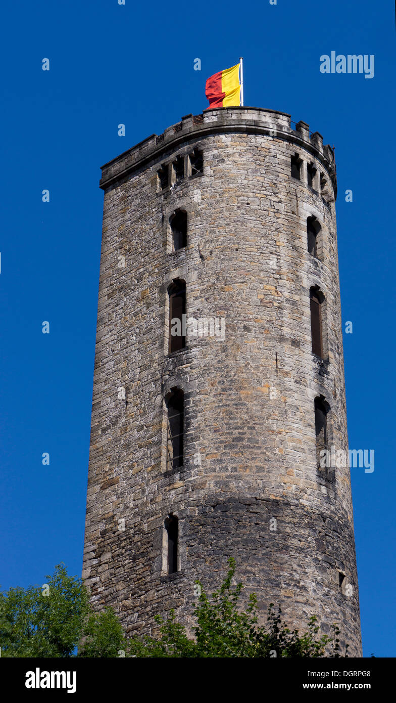Old Powder Tower, Hannoversch Münden, Lower Saxony, Germany Stock Photo