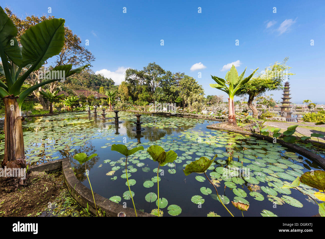 Tirta Gangga Royal Water Garden: Ababi Stock Photos & Ababi Stock Images