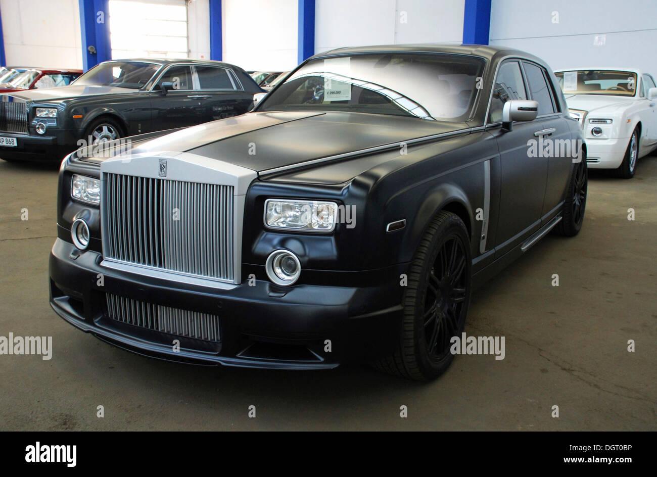Rolls Royce Phantom Mansory Conquistador Built In 2007 460 Hp For Stock Photo Alamy