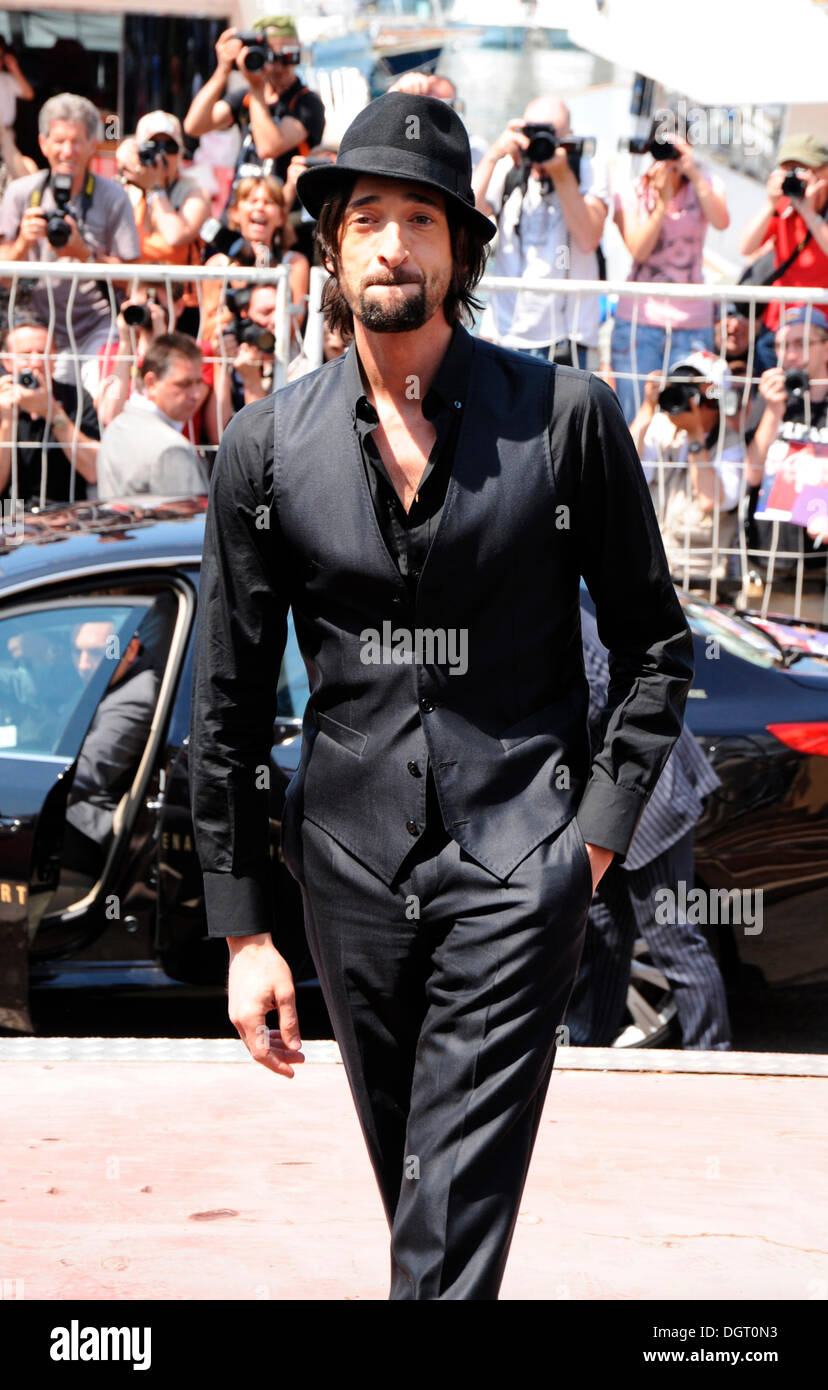 Adrien Brody arriving at the 64th International Film Festival in Cannes, France, Europe - Stock Image