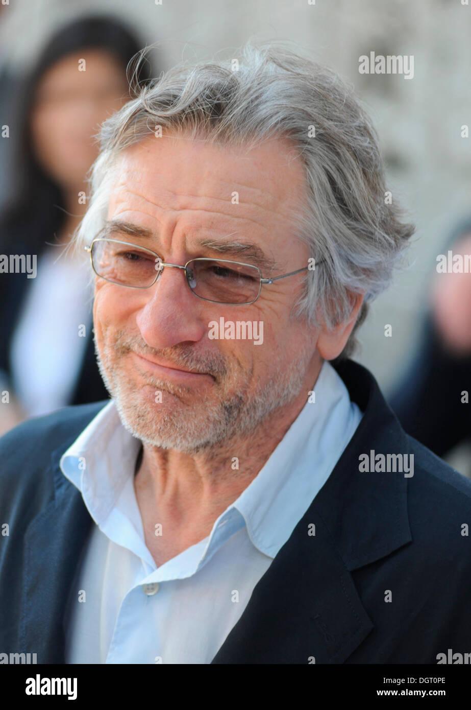 Robert de Niro, jury member, 64th International Film Festival of Cannes, 2011, Cannes, France, Europe - Stock Image