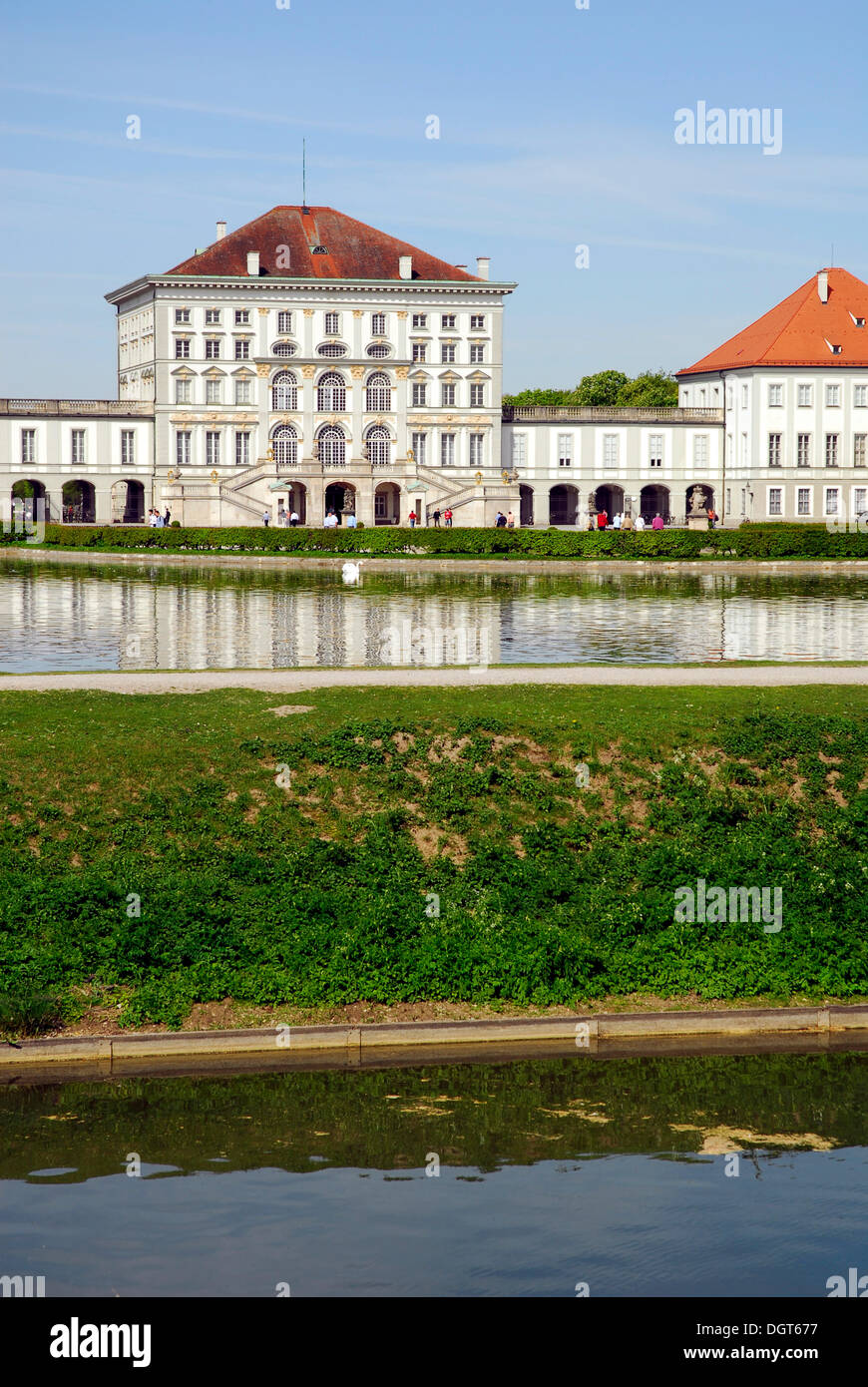 schloss nymphenburg palace and park stock photos schloss nymphenburg palace and park stock. Black Bedroom Furniture Sets. Home Design Ideas