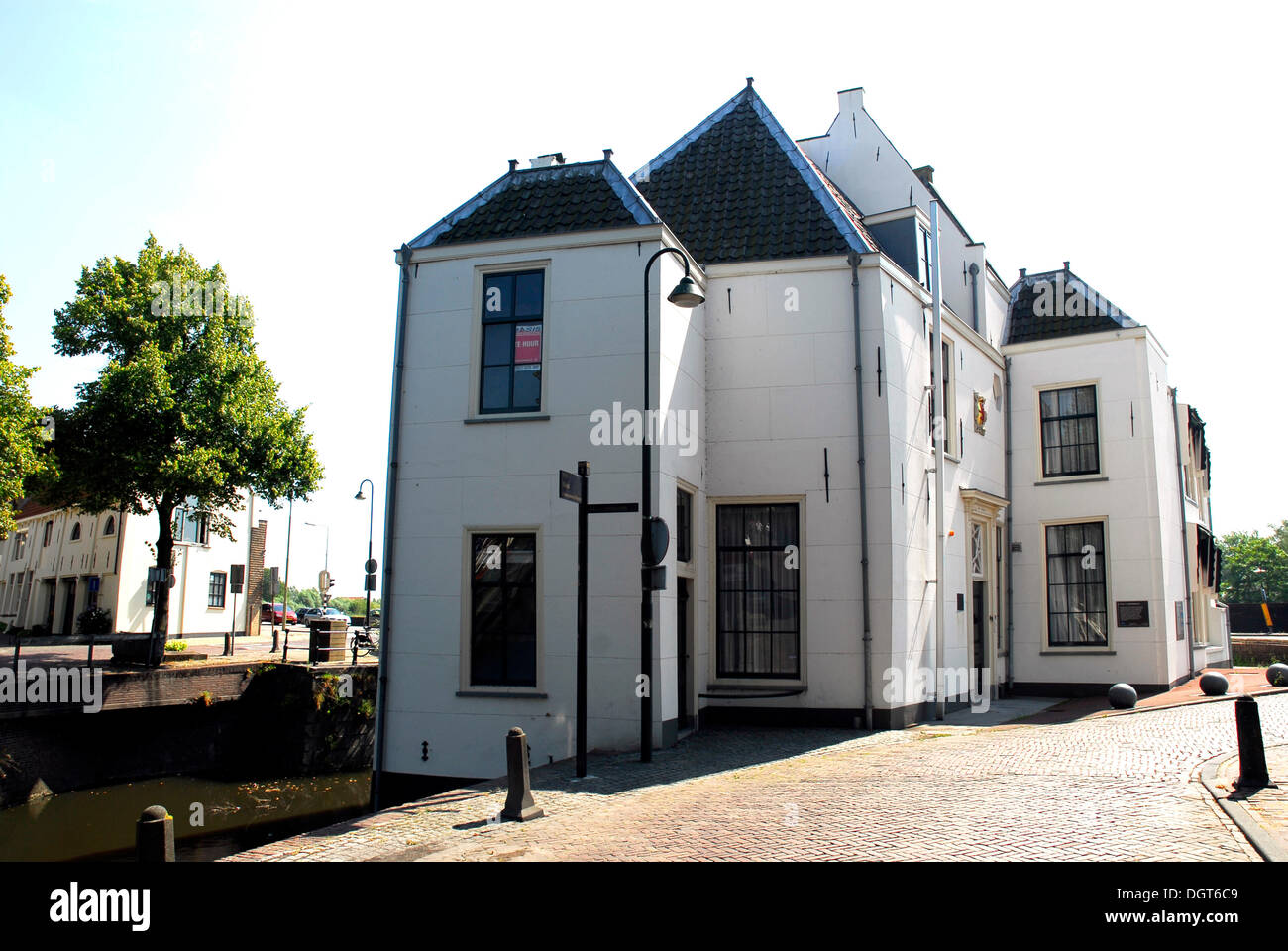 Tolhuis, historic customs house in Gouda, Zuid-Holland, South Holland, the Netherlands, Europe - Stock Image